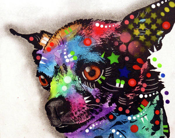 Painting - Chi Chi by Dean Russo Art