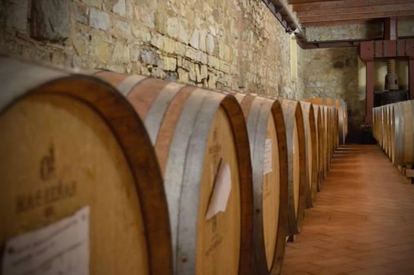 Photograph - Chianti Wine Cellar by Chris Alberding