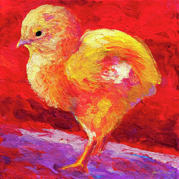 Barnyard Animal Painting - Chic Flic Iv by Marion Rose