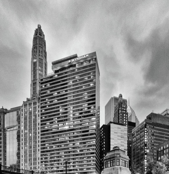 Photograph - Chicago 14 by Mikael Sandblom