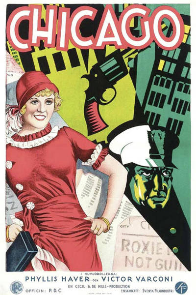 Wall Art - Mixed Media - Chicago 1927 by Movie Poster Prints