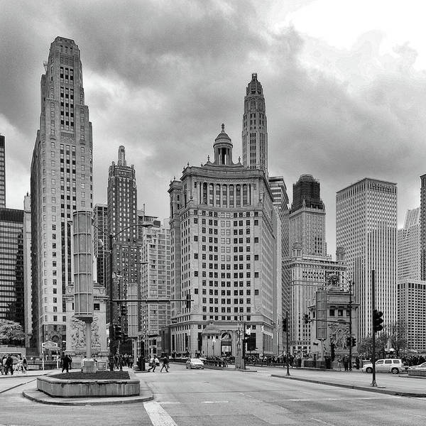 Photograph - Chicago 5 by Mikael Sandblom