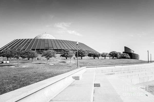 Wall Art - Photograph - Chicago Adler Planetarium Black And White Picture by Paul Velgos