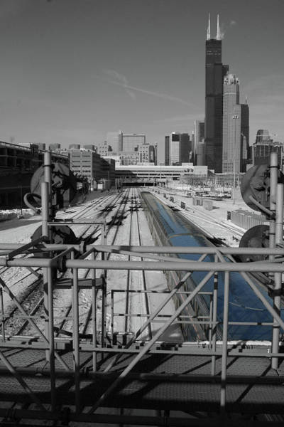 Photograph - Chicago Amtrak by Dylan Punke