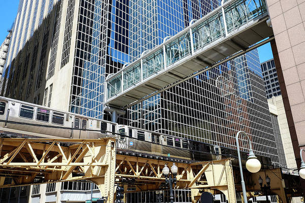 Photograph - Chicago Architecture And The Ell by John McArthur