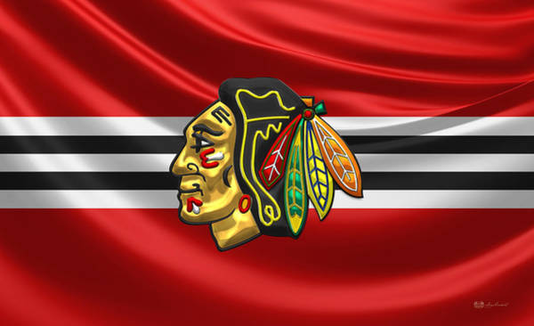 Sport Wall Art - Photograph - Chicago Blackhawks by Serge Averbukh