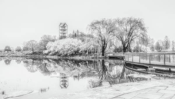 Photograph - Chicago Botanic Garden Black And White by Julie Palencia