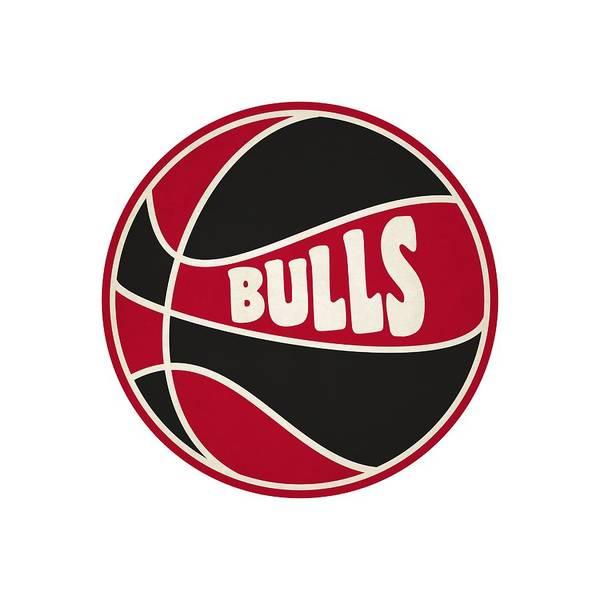 Chicago Bulls Photograph - Chicago Bulls Retro Shirt by Joe Hamilton