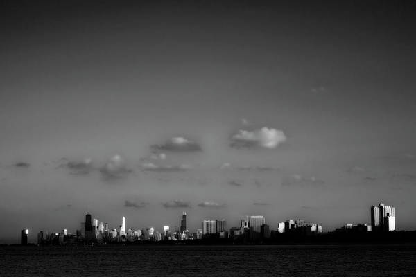 Wall Art - Photograph - Chicago Bw by John Gusky