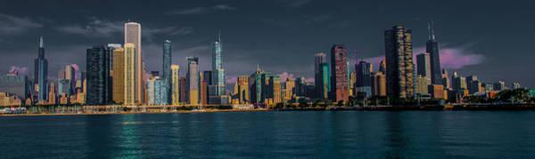Photograph - Chicago Cityscape by Jim DeLillo