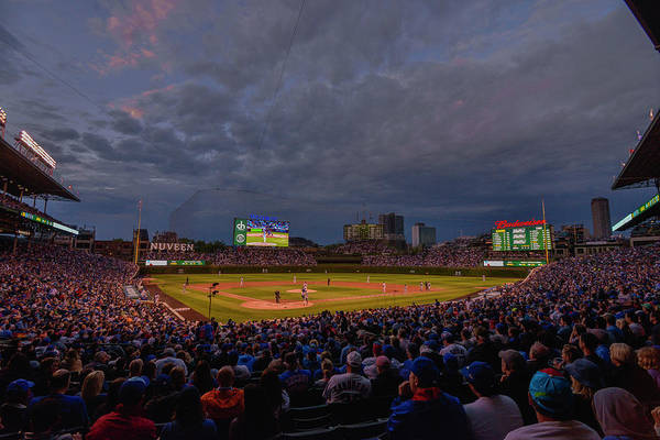 Photograph - Chicago Cubs Wrigley Field 7 8321 by David Haskett II