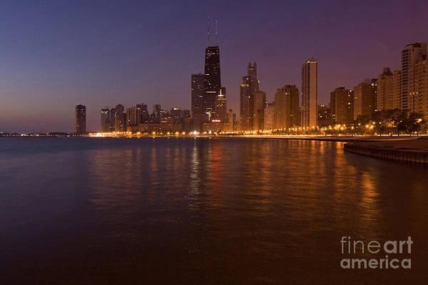 Chicago Dawn Art Print