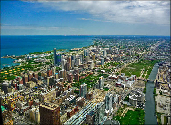 Photograph - Chicago East View by Ginger Wakem