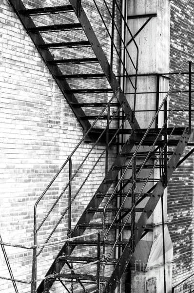 Wall Art - Photograph - Chicago Fire Escape by John Rizzuto