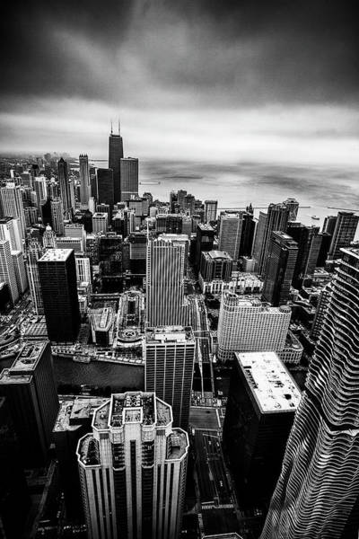 Wall Art - Photograph - Chicago From Above by Andrew Soundarajan
