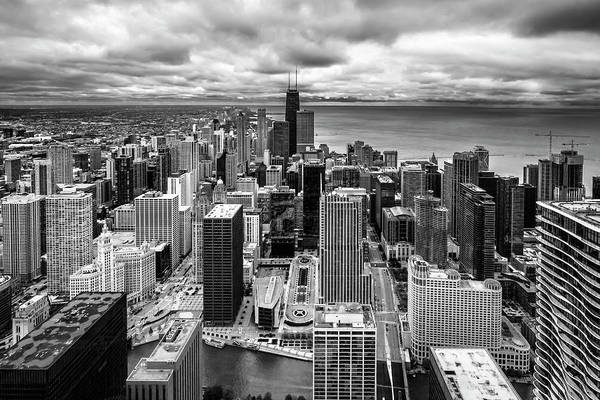 Photograph - Chicago From The 70th Floor by Sven Brogren