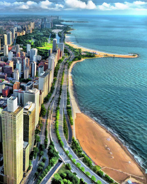 Painting - Chicago Gold Coast by Christopher Arndt