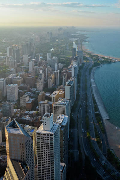 Photograph - Chicago Gold Coast Portrait by Kyle Hanson