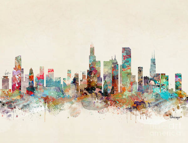 Chicago Painting - Chicago Illinois by Bri Buckley