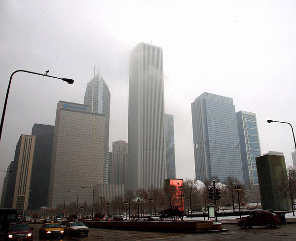 Photograph - Chicago In Winter I by James Granberry