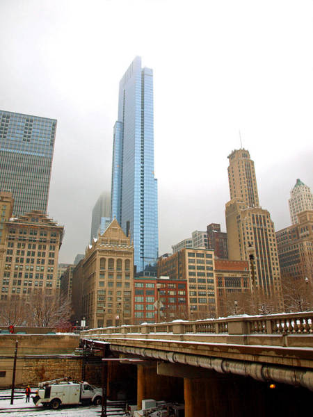 Photograph - Chicago In Winter II by James Granberry