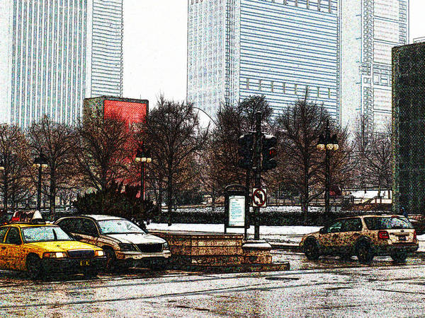 Photograph - Chicago In Winter IIi by James Granberry
