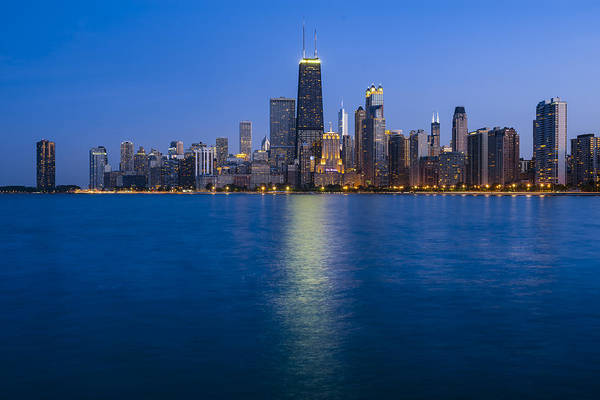 Wall Art - Photograph - Chicago Lakeshore 2015 by Donald Schwartz