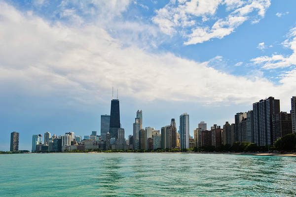 Photograph - Chicago Lakeshore Skyline by Kyle Hanson