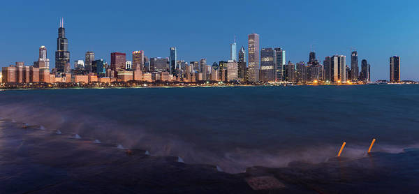 Wall Art - Photograph - Chicago Morning. Go Loyola by Donald Schwartz