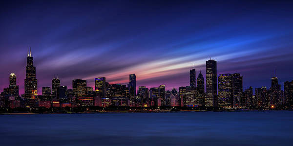 Wall Art - Photograph - Chicago Panorama by Andrew Soundarajan