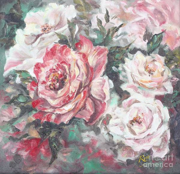 Painting - Chicago Peace And Seduction Roses by Ryn Shell
