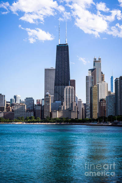 2012 Photograph - Chicago Photo Of Skyline And Hancock Building by Paul Velgos