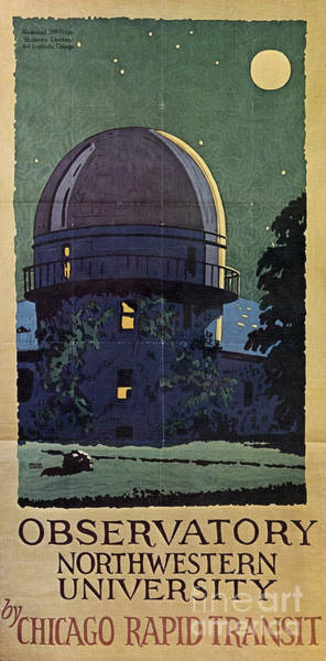 Painting - Chicago Poster, 1925 by Granger