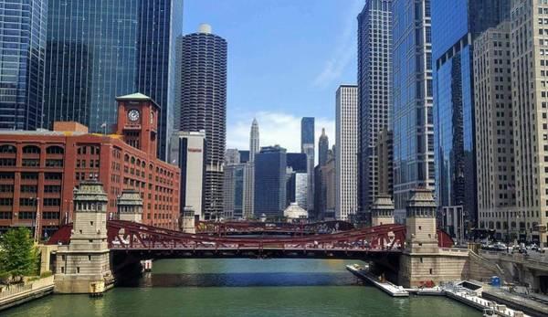 Chicago River Digital Art - Chicago River by Jen Anderson