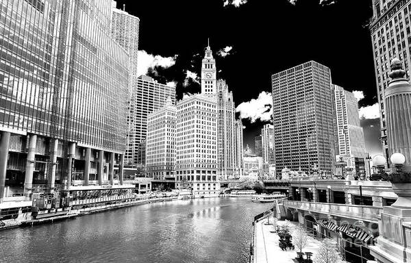 Wall Art - Photograph - Chicago River View by John Rizzuto