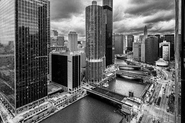 Photograph - Chicago River View  by Sven Brogren