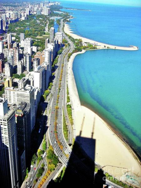 Chicago Shoreline Art Print by Snapshot Studio