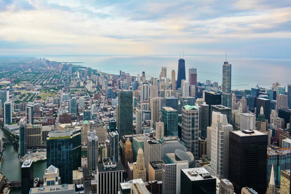 Photograph - Chicago Skydeck Cityscape by Kyle Hanson