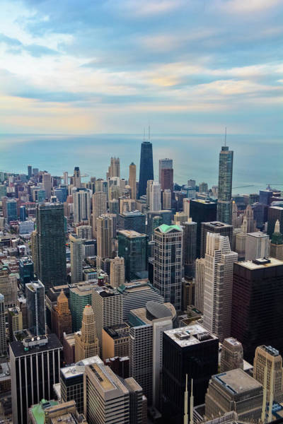 Photograph - Chicago Skydeck Portrait by Kyle Hanson