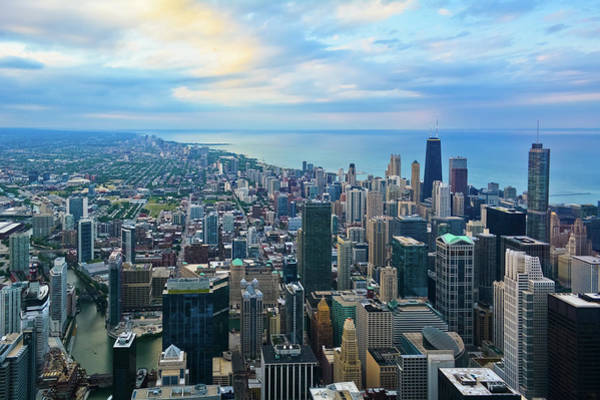 Photograph - Chicago Skydeck Sunset by Kyle Hanson