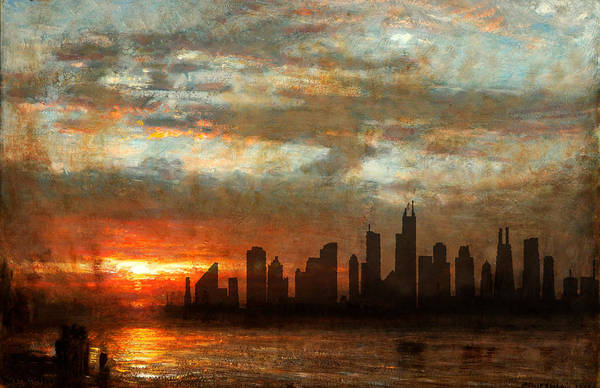 Photograph - Chicago Skyline 17 by Andrew Fare