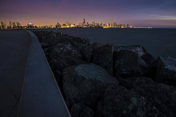 Photograph - Chicago Skyline At Dawn From The South Side by Sven Brogren