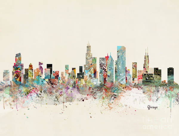 Chicago Skyline Art Print