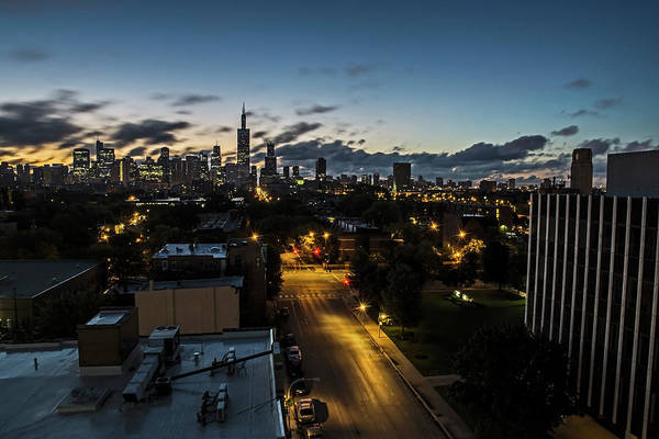 Photograph - Chicago Skyline Early One Summer Morning by Sven Brogren