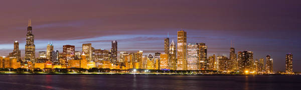 Illinois Art Photograph - Chicago Skyline From Adler  by Twenty Two North Photography