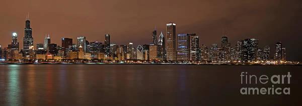 Photograph - Chicago Skyline Panorama by Eddie Yerkish