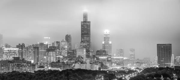 Photograph - Chicago Skyline Panorama by Gregory Ballos