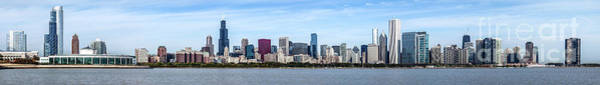 Wall Art - Photograph - Chicago Skyline Panorama High Resolution Photo by Paul Velgos