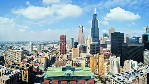 Photograph - Chicago Skyline Panorama by Kyle Hanson
