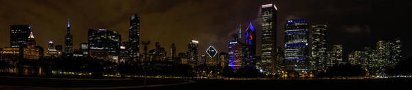 Photograph - Chicago Skyline Panorama by Randy Scherkenbach